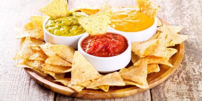 Käsedip für Nachos - der Filmabend kann kommen